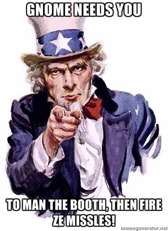 GNOME Needs you!